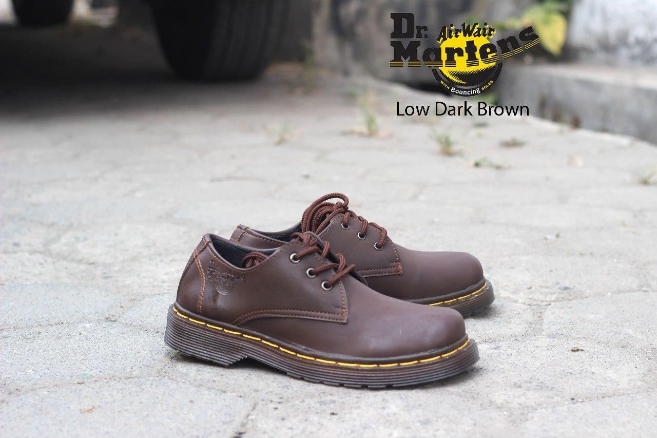 Sepatu Boots Pria   Sepatu Casual Formal Kerja Kuliah Dr. Martens Kulit  sintesis c88e6ba43c