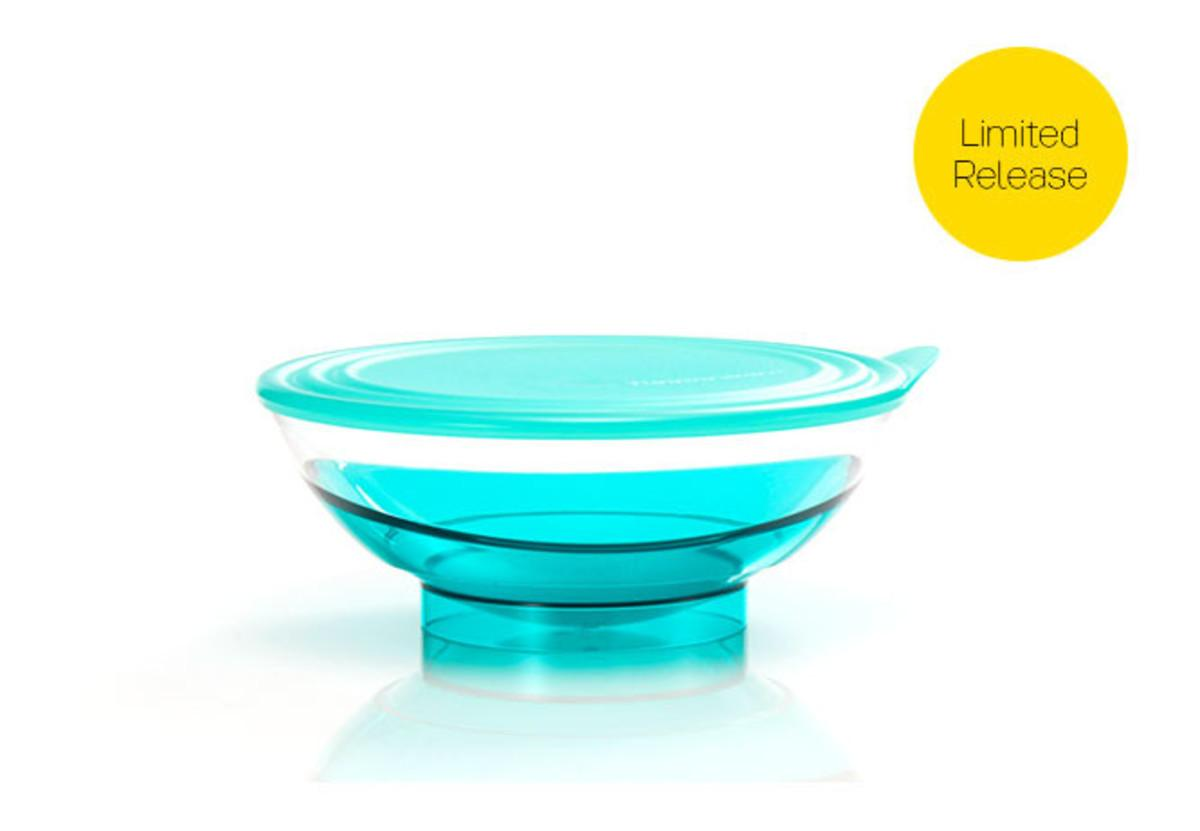 Buy Sell Cheapest Tupperware Purple Eleganzia Best Quality Product Bowl 600ml 4 Set 15 L Tosca
