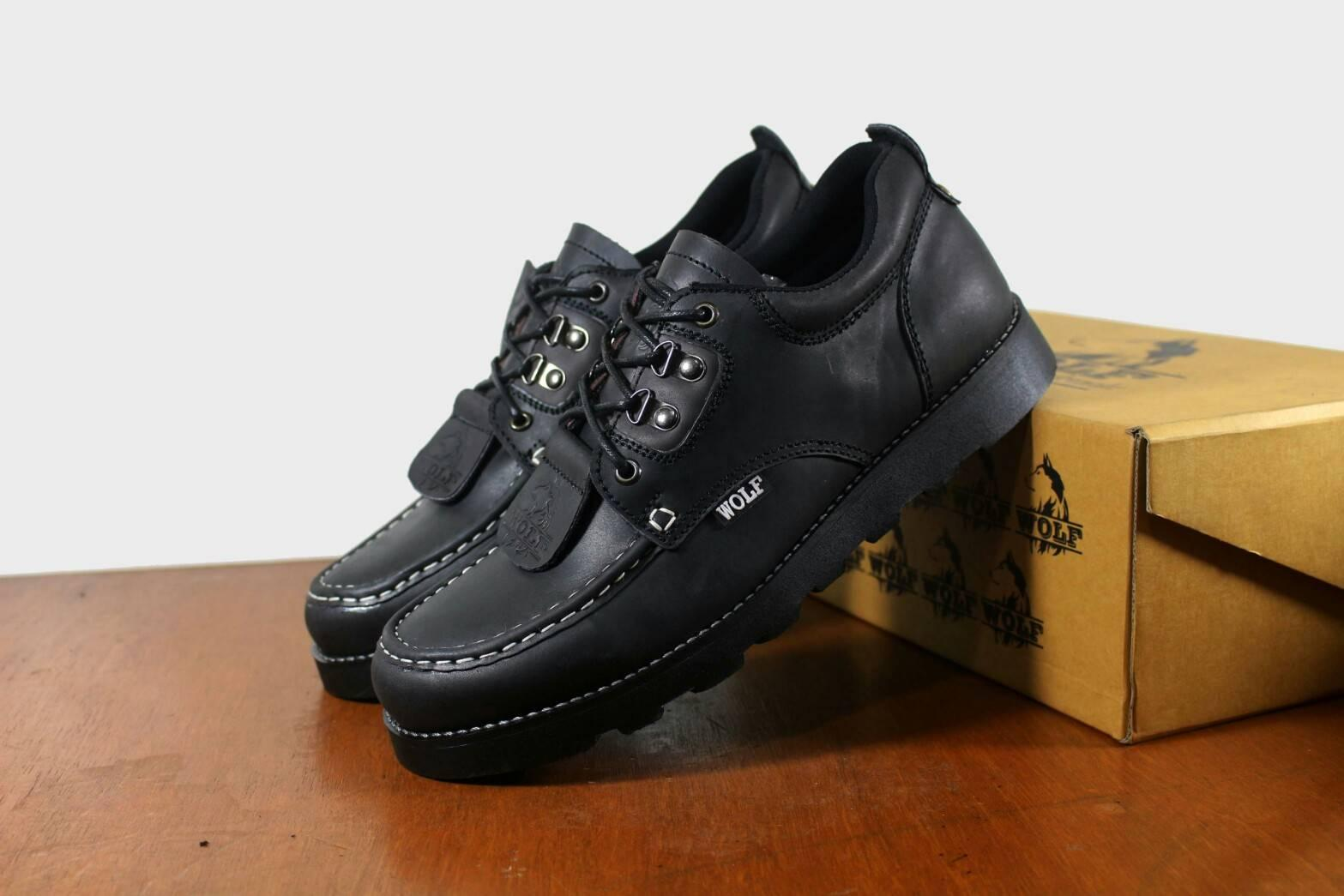 Buy Sell Cheapest Asli E Best Quality Product Deals Indonesian Store Sepatu Kulit Casual Boston Hormone Coklat B A Weah Brodo Boots Leather Mens Pendek