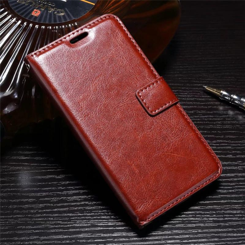 FLIP COVER WALLET Motorola Moto Z2 Play Leather Case Kulit Dompet Casing Retro Vintage Premium Kick Stand Magnetic Lock