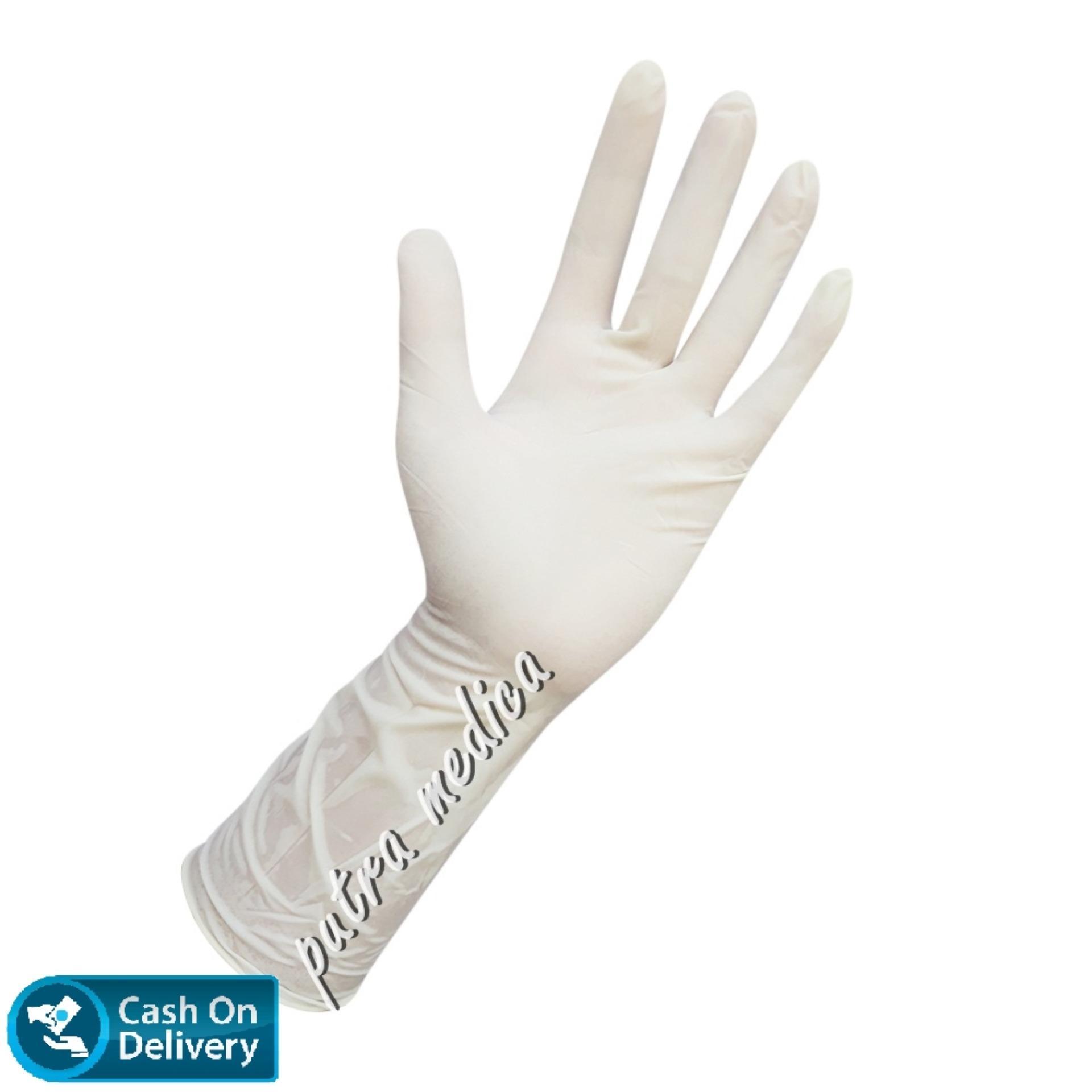 Putra Medica Maxter Handscoon Steril Size 7 - 1 Pasang / Sarung Tangan Karet Latex Steril