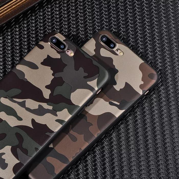 SoftCase / Casing Army OPPO F3 A77 Soft Anti Crack Shock Case f3