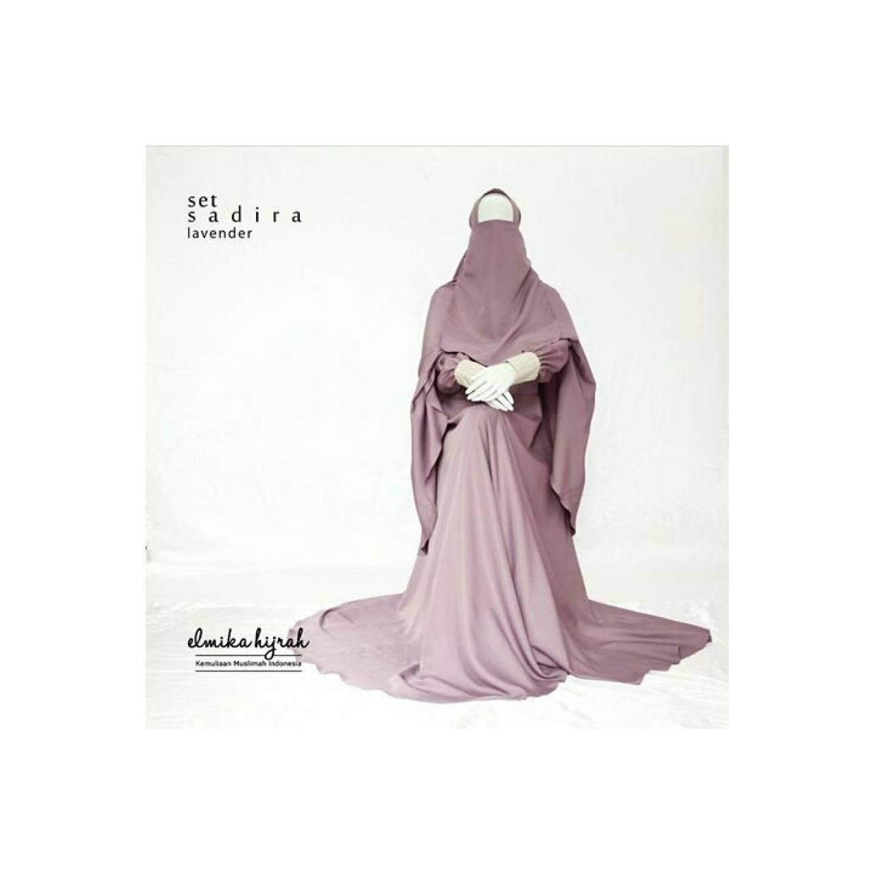 Sadira gamis by elmika hijrah