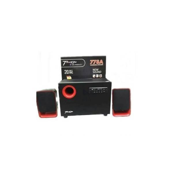 Hot Promo Speaker Aktif TECKYO 778A Multimedia Speaker 2.1Ch 20 Watt RMS New Sound GMC Product