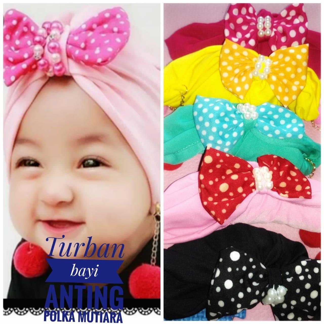 turban bayi anting mutiara