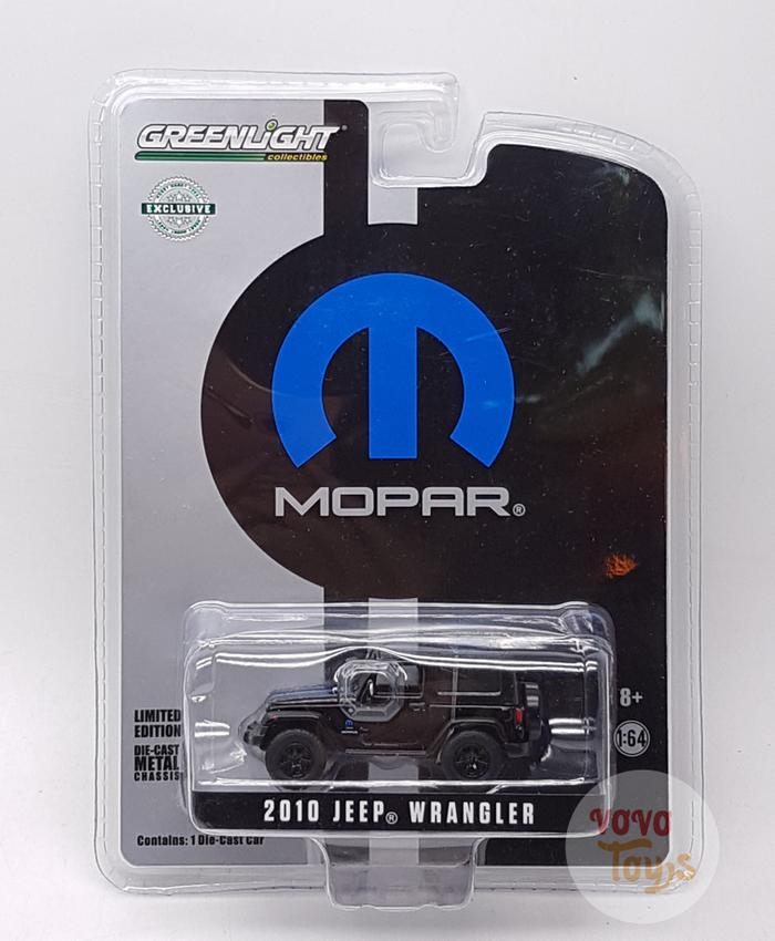 TERLARIS Greenlight 1:64 Mopar 2010 Jeep Wrangler Black