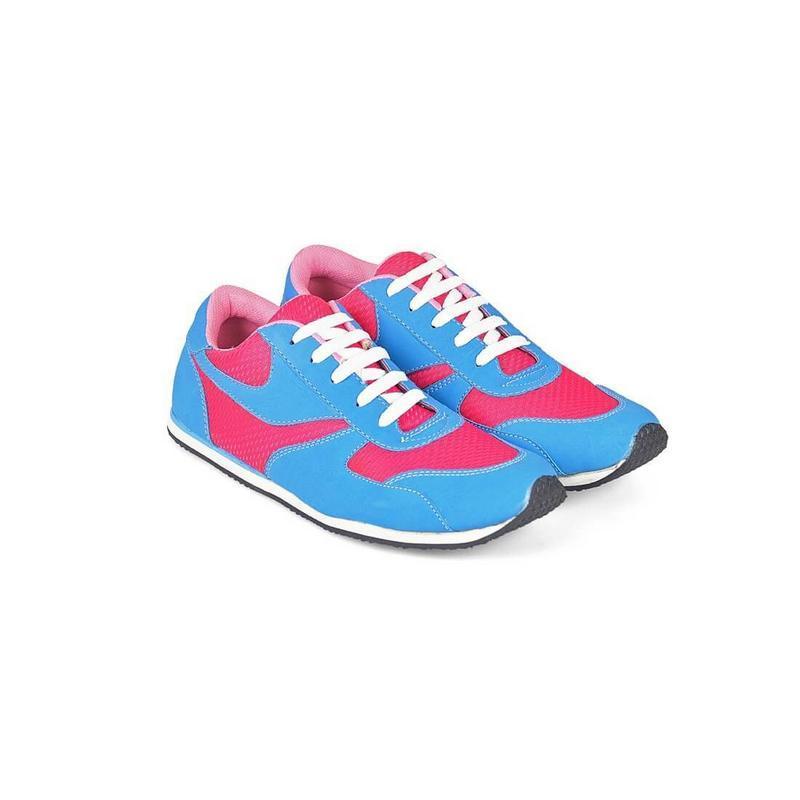 Java Seven Sepatu Kets Pria Biru Komb - GLR 715