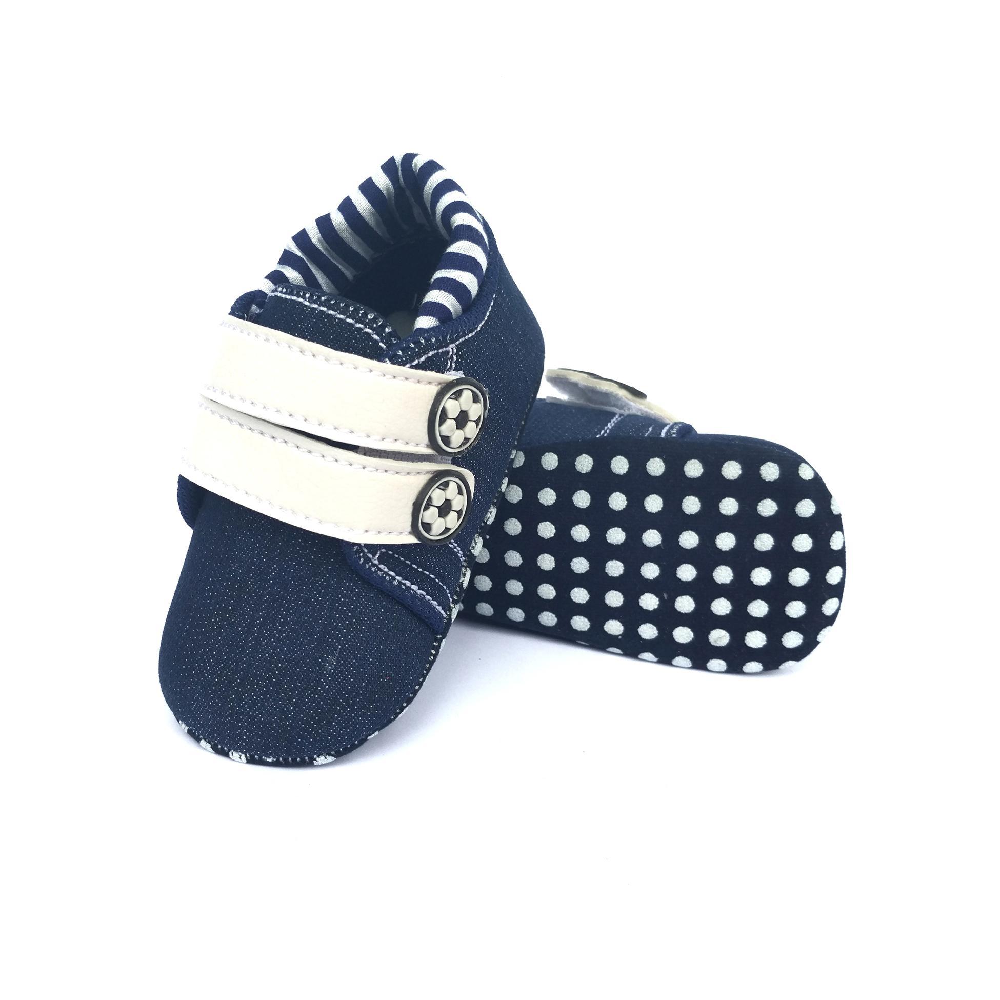 Sepatu Bayi Laki-laki Prewalker Jeans Sport 0bf0109267