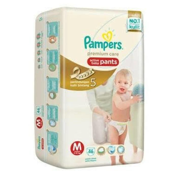Pampers premium Pants M46 M 46 L42 L 42 XL36 XL 36 XXL28 XXL 28 - XXL28