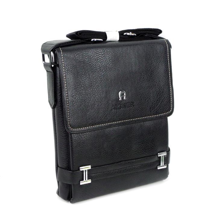 Tas slempang cowok - Sling Bag - Waist Bag - travel bag - Slingbag Pria - Tas Selempang AIGNER ANR BLACK