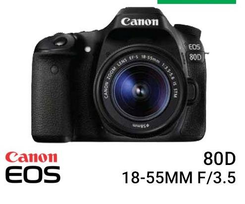 Canon EOS 80D Kit EF-S 18-55mm IS STM