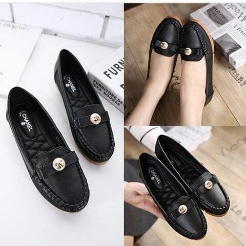 best seller-BALET CHANEL HIP HOP 3 WARNA / FLATSHOES / sepatu jalan wanita /sepatu SLIP ON / sepatu best quality / sepatu original