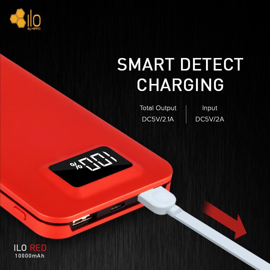 Aksesoris Hp Hippo Termurah Terlengkap Power Bank Bronz 7500 Mah Simple Pack Putih Ilo Red 10000 Special Edition