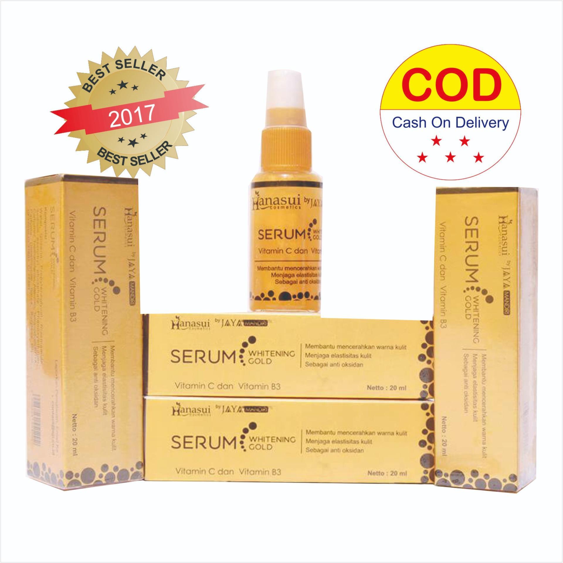 Jual Serum Essence Wajah Hanasui Gold Bpom Original Whitening 20 Ml