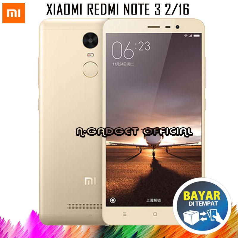 Xiaomi Redmi Note 3 - Ram 2GB/16GB - ( B.Indonesia & Redy Playtore )