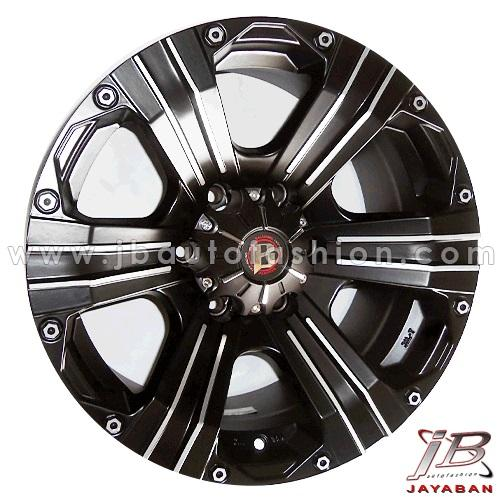 Velg mobil racing ring 20 inch Balistic Outlaw PCD 6x139.7 Fortuner, Pajero, Everest, Blazer, Dmax, Triton