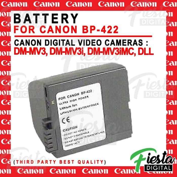 Batere / Battery For CANON BP-422 buat camcorder DM-MV3, DM-MV3i,DLL