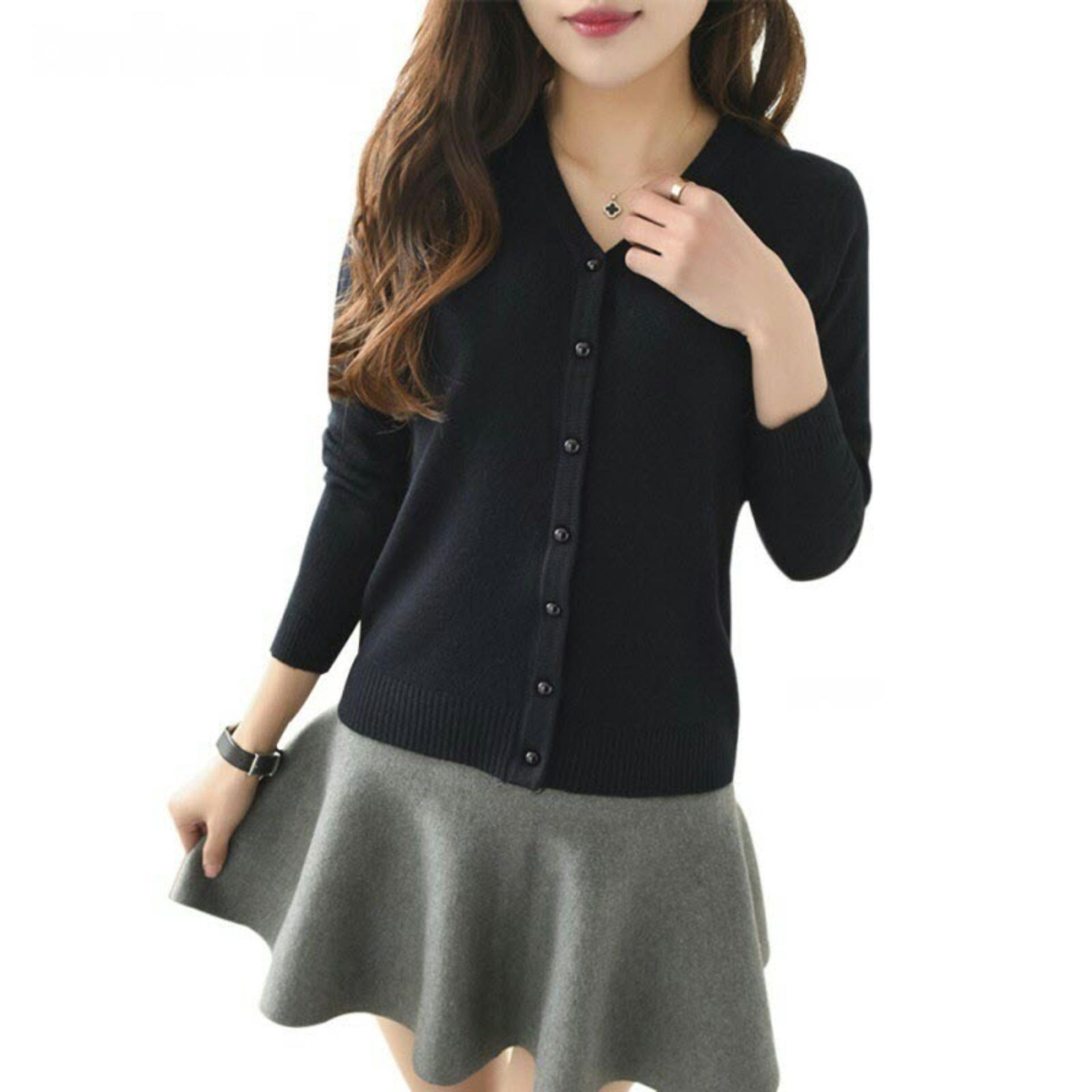 Cardigan Wanita Rajut MSR172 / Kardigan / Sweater / Jaket / Baju Hangat / Luaran /