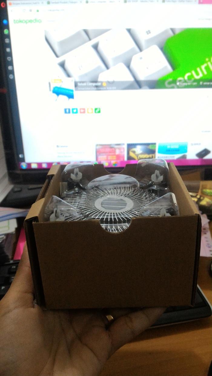Buy Sell Cheapest Fan Processor Lga Best Quality Product Deals Kipas Heatsink Cpu Cooler King For Intel 775 Promo Std Terlaris