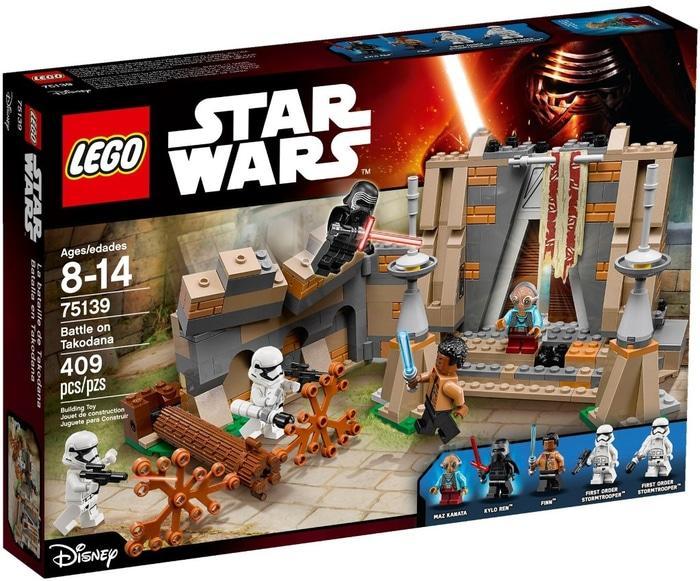 BEST SELLER!!! Lego StarWars 75139 Battle on Takodana - pUev9z