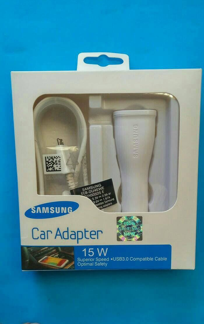 Car Adapter Cas Charger mobil SAMSUNG Adaptive Fast Charging Ori 100