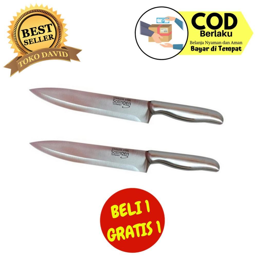 Solingen Pisau Dapur Stainless Steel - buy one get one free
