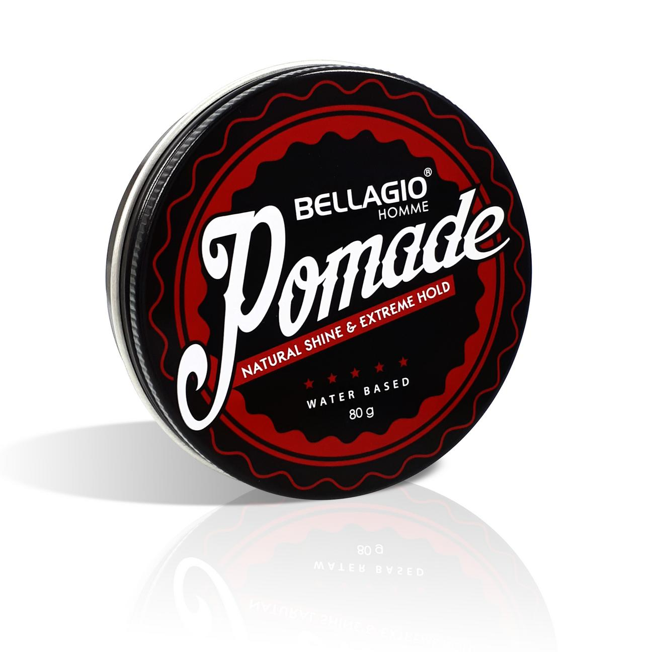 Jual Beli Bellagio Homme Natural Shine Extreme Hold Pomade Murray Edgewax