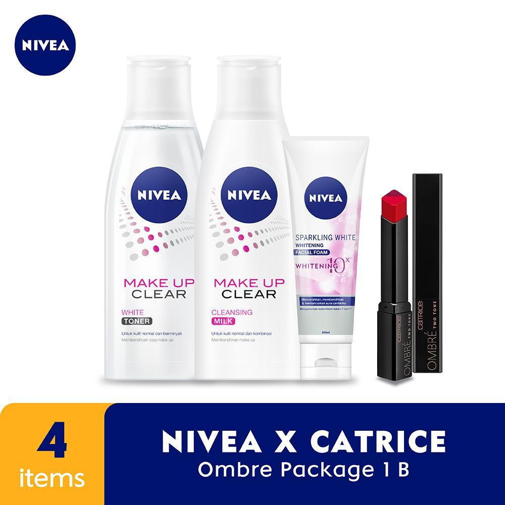 Valentine Ready -Whitening- Nivea X Catrice Lipstik Catrice Ombre Shade 040 By Lazada Retail Nivea.