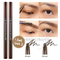 ETUDE HOUSE Pensil Alis & Sikat Alis 2 in 1 / ETUDE HOUSE Drawing Eye Brow