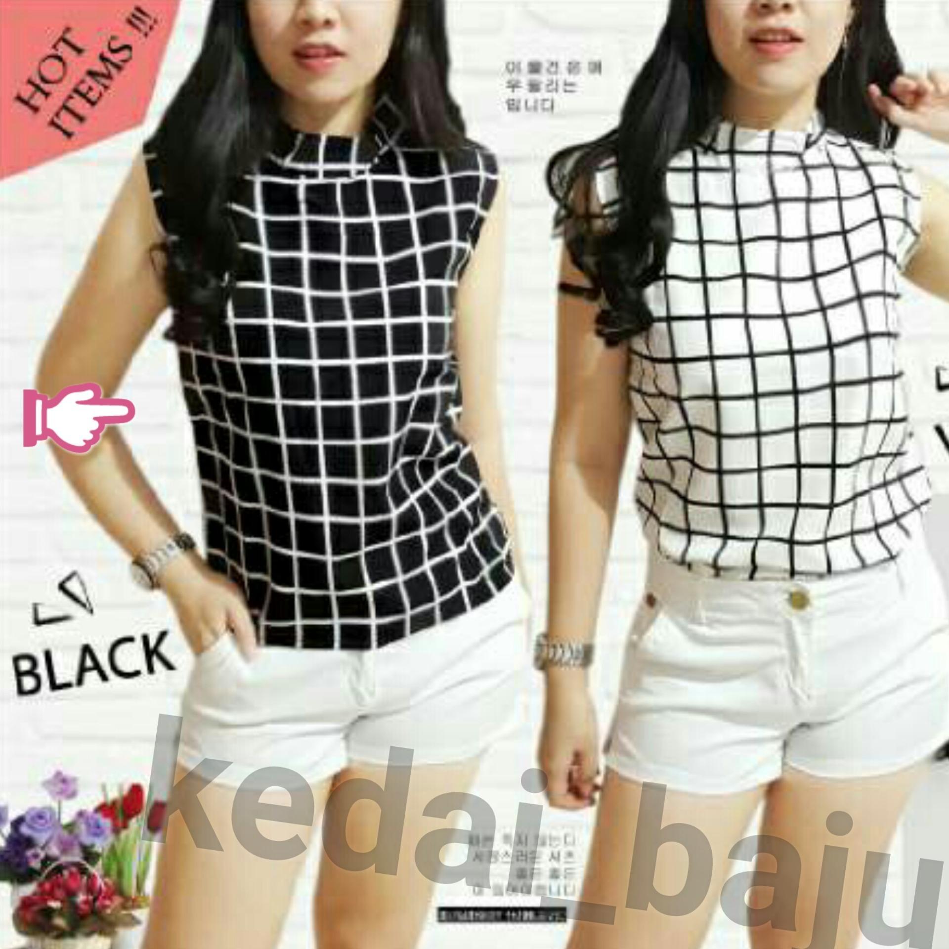 Rp 36.600. Kedai_baju Baju Wanita / Blouse Korea / Atasan ...