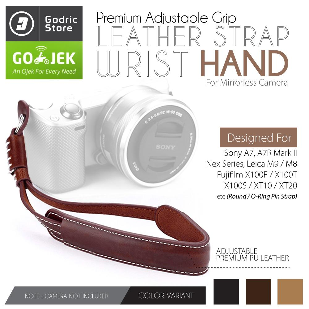 Godric Hand Strap Wrist Strap O-Ring Kamera DSLR Mirrorless Fujifilm Sony Canon Nikon etc
