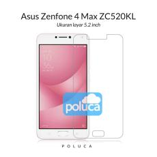 Poluca Tempered Glass Screen Protector Anti Gores Kaca Asus Zenfone 4 Max 5.2 inch ( ZC520KL