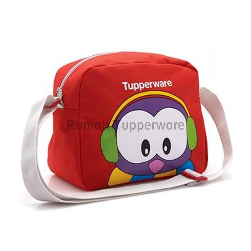 Tupperware Poppy Bag (Promo) Tas Bekal Selempang Bergambar