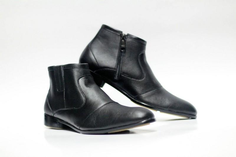 sepatu Pantofel PDH dari Cevany kulit asli sepatu kerja pria formal kantor 7b3a9d8026