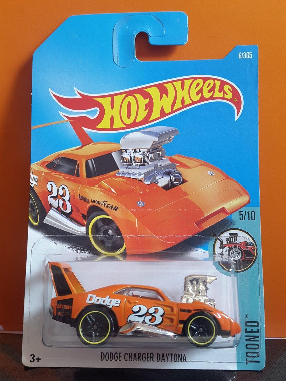 Dodge Charger Daytona Goodyear orange colour Hotwheels # Favorit Toys favorit_toys
