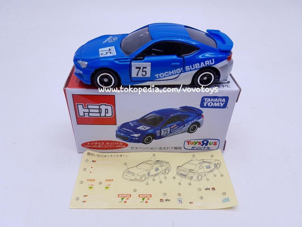Tomica Toys R Us Subaru BRZ -Tochigi Subaru DL Motul # Vovo Toys vovotoys