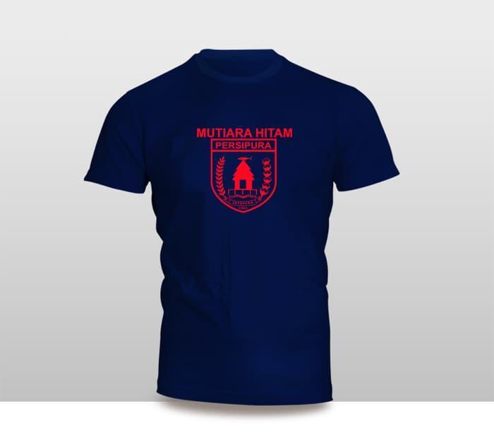 Hemat 10%!! Kaos Baju Pakaian Club Bola Persipura Jayapura Murah - Putih, Xs - ready stock