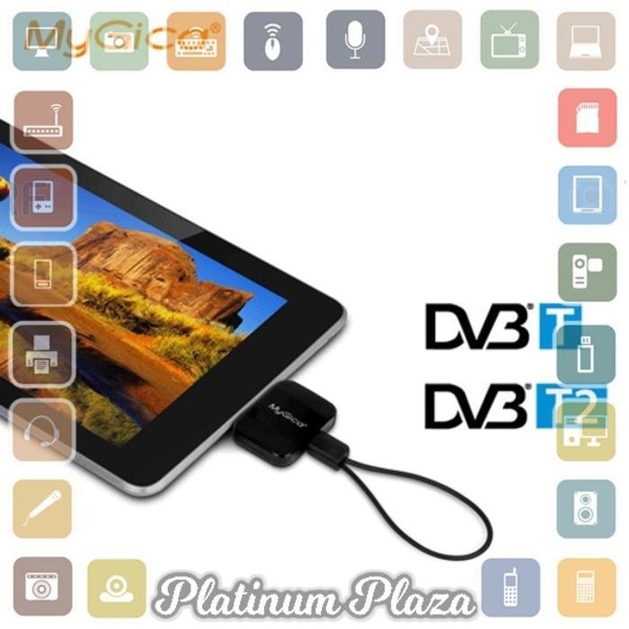 Best Seller!! Mygica Pad Android Tv Tuner Dvb-T2 - Pt360 - Black`5Ys445- - ready stock