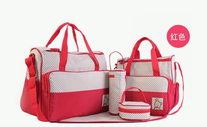 Family Store - Promo Perlengkapan Bayi Kelambu Tidur Bayi Tas Bayi Aksesoris Bayi N258 Diaper Bag Tas Perlengkapan Bayi Travelling Bag 5in1 Multifungsi By Familyshop.