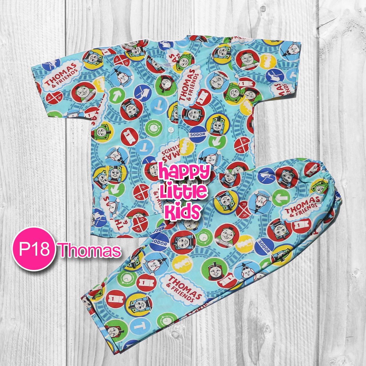 Baju Tidur Piyama Anak 1 sd 6 Tahun Laki-Laki Perempuan P18 BIDENBUY