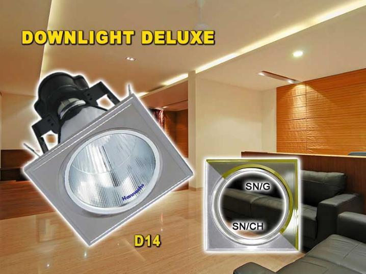 Cuci Gudang - Hannochs - Fitting Downlight DLG 5 Inch Deluxe