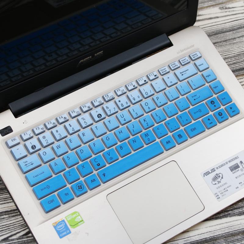 Asus membran Keyboard F442U genggam Komputer W418L suku cadang 14-inch notebook R417N Cover pelindung Set pelindung layar