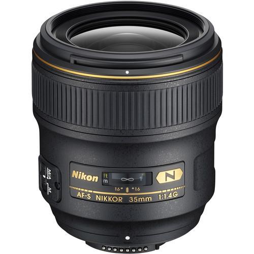 Nikon AF-S 35mm f/1.4G N - Hitam