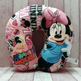 Harga preferensial BANTAL Leher Karakter Minnie Mouse Travel Pillow / Neck Pillow / Bantal Mobil /