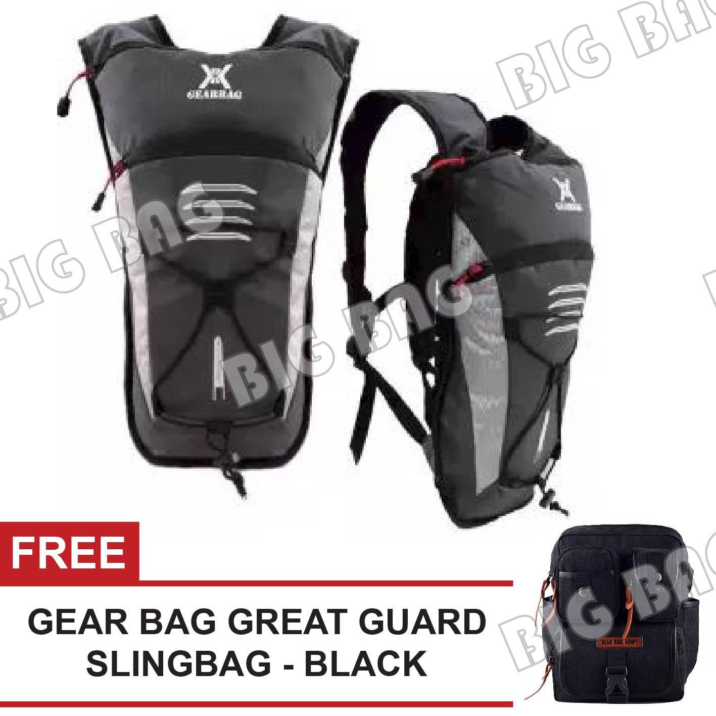 Gear Bag - Gimondi Hydropack Cycling Backpack + FREE Gear Bag Great Guard Army Slingbag - Black Tas Sepeda Ransel Tas Sepeda Ransel Best Seller Tas Fashion Pria