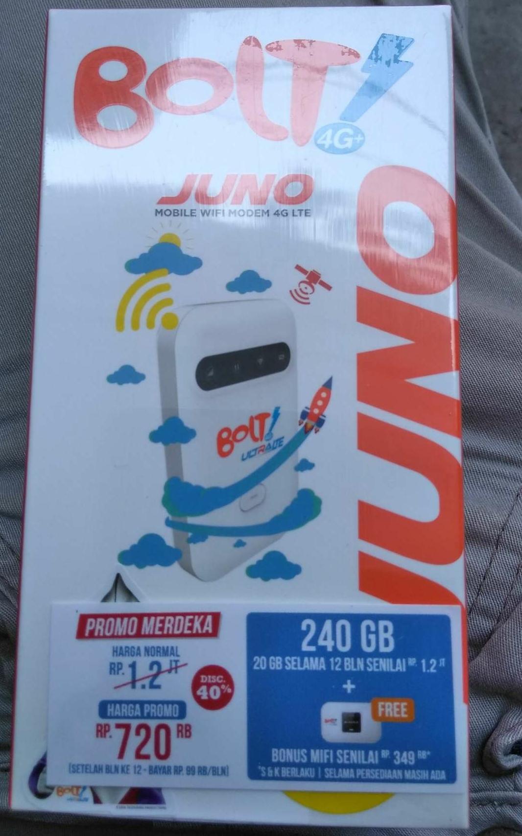 Beli Modem Bolt Aquila Max Unlock Smartftren 4g Harga Rp 268500 Mifi Juno 240 Gb