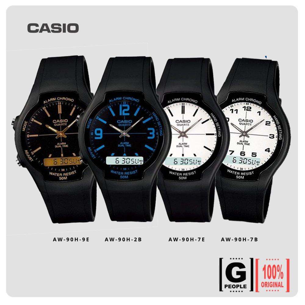 Jam Tangan Casio AW 90H Original- AW-90H Ori- AW90H- AW90 5c8b6f24c3