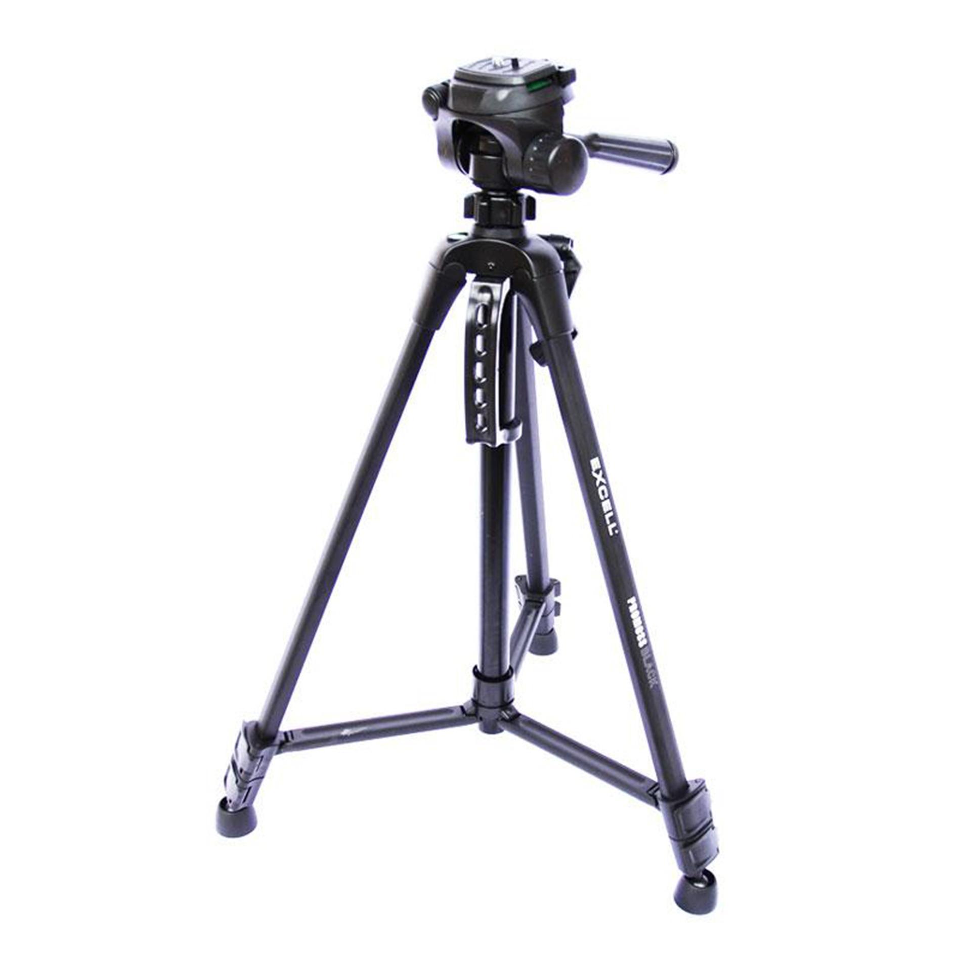 Tripod EXCELL PROMOSS BLACK Kamera Slr Dslr Mirrorless Gopro Hp
