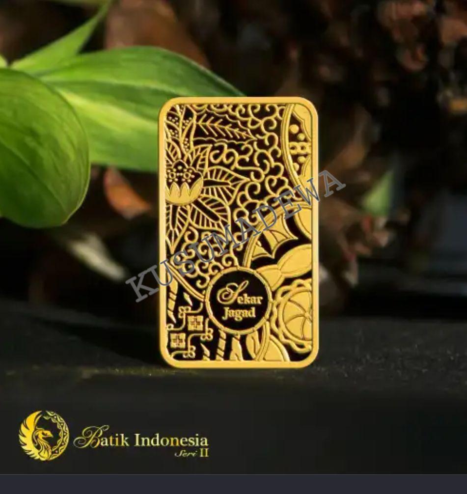 Emas Logam Mulia Antam Murah 3gr 10gr Batik Seri Terbaru