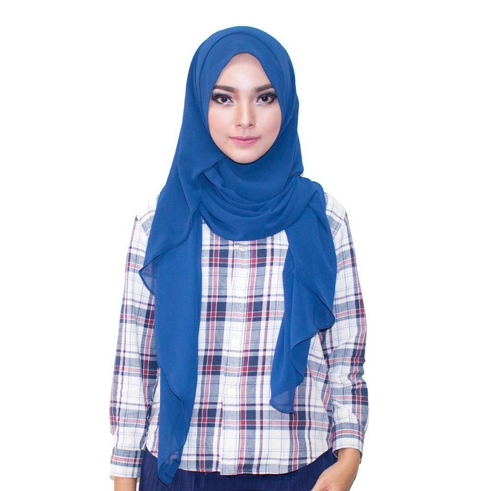 Farha Hijab Kerudung Instan - [Warna Dongker]